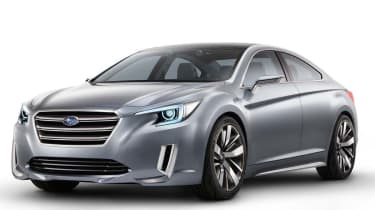LA motor show 2013: Subaru Legacy Concept