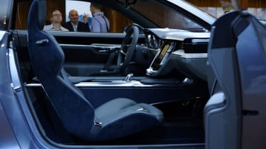 Volvo Coupe concept interior at the Frankfurt motor show