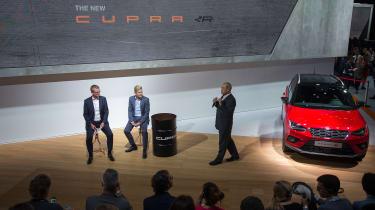 SEAT CUPRA R press talk