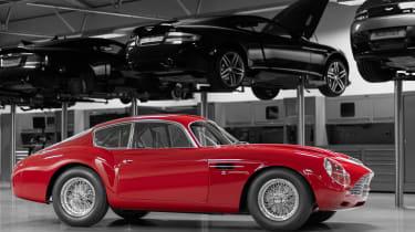 Aston Martin DB4 Zagato continuation - side