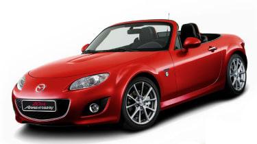 Mazda MX-5 20th Anniversary red