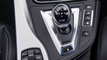 BMW M3 - Gear selector