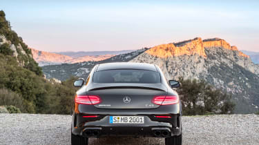 Mercedes-AMG C43 Coupe - rear