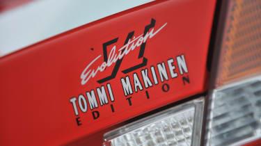 Mitsubishi Evo VI Tommi Makinen Edition - badge