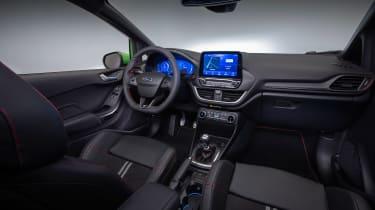 2022 Ford Fiesta ST –dash