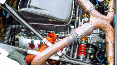 Brabham BT62 engine bay