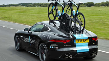 Jaguar SVO builds F-Type Concept for Team Sky