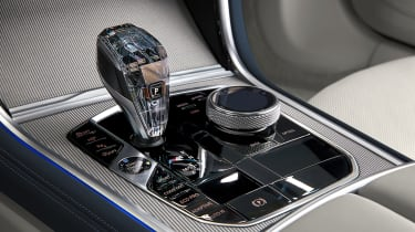 BMW 8-series Gran Coupe interior gear selector