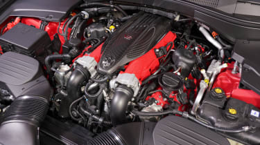 Maserati Levante Trofeo – engine bay