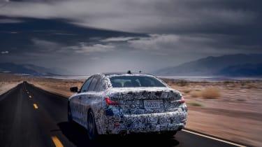 2019 BMW 3-series teaser - rear
