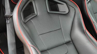 Lotus Evora S Sports Racer leather sports seat