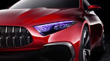 Mercedes-Benz Concept A Sedan front light
