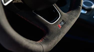 Audi RS4 – steering wheel