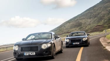 Bentley Continental GT - pre production SA