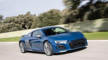 Audi R8 facelift review - front