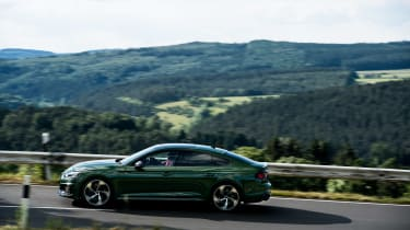 Audi RS5 Sportback review - side