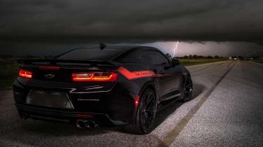 Hennessey Camaro - lightning