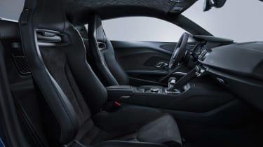 Audi R8 facelift - interior