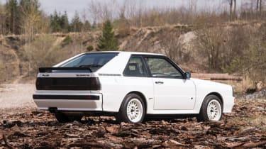 Audi Sport Quattro - Rear