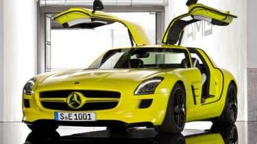Electric Mercedes-Benz SLS AMG