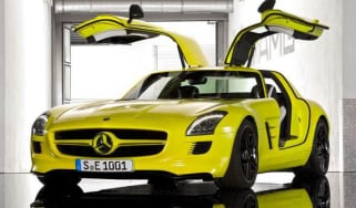 Electric Mercedes-Benz SLS AMG