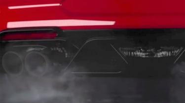 Ford Mustang Shelby GT500 – exhaust pipes