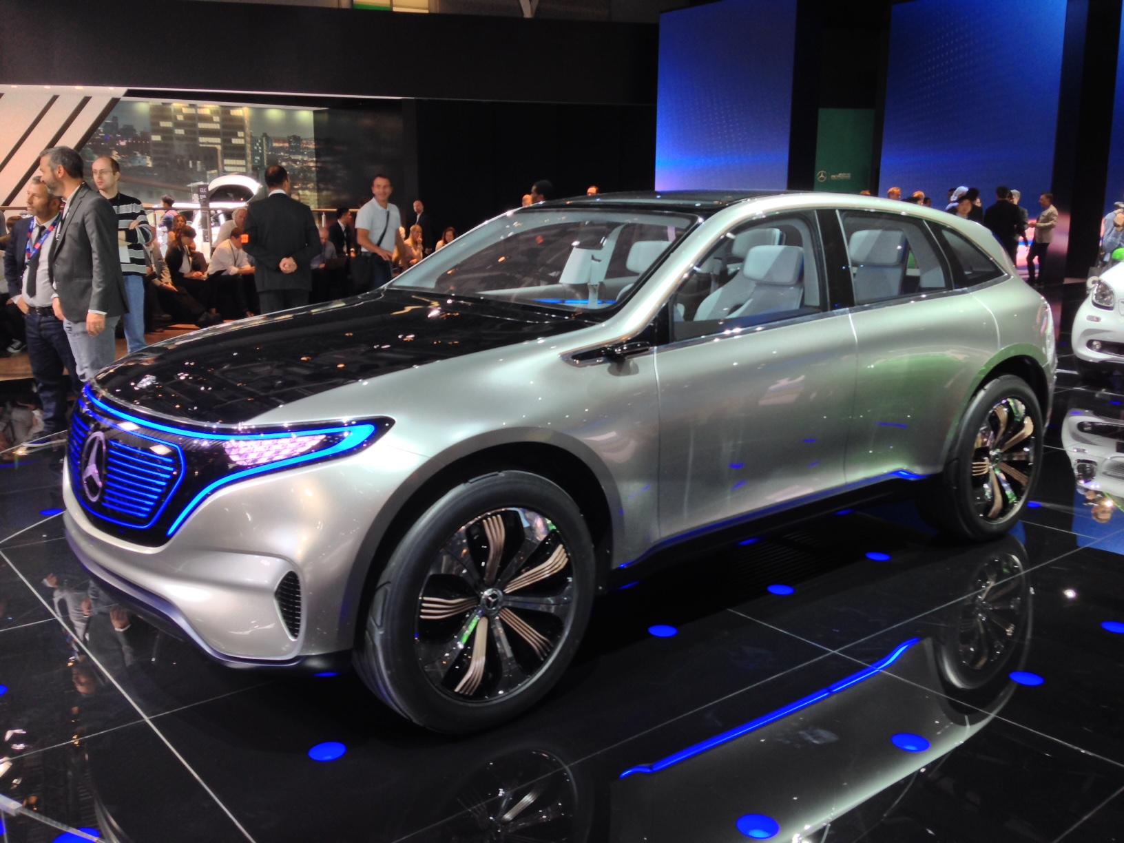 Audi Suv Models >> Mercedes-Benz EQ concept previews new all electric models | Evo