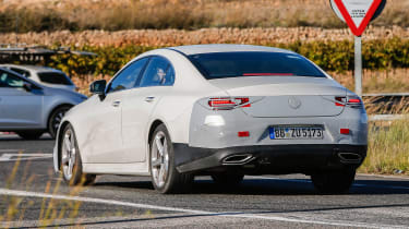 Mercedes-Benz CLS spy - rear