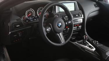 BMW M5 2013 black leather interior