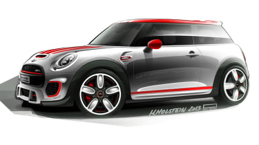 New Mini John Cooper Works Concept sketch