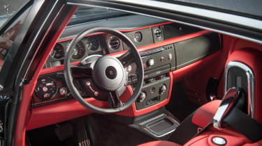 Rolls-Royce Phantom Chicane Coupe carbonfibre interior dashboard