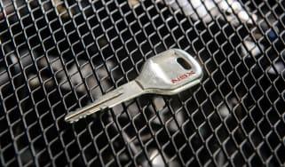 Honda NSX's Monel ignition key