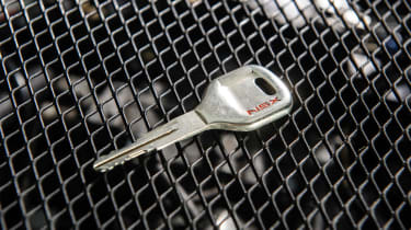 Honda NSX's Monel ignition key
