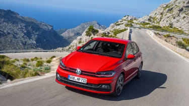 Volkswagen Polo GTI – front quarter