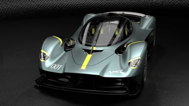 Aston Martin Valkyrie AMR - front quarter