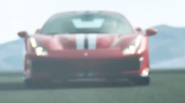 Ferrari 488 'Sport Special Series' teaser - front
