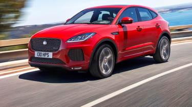 Jaguar E-Pace - driving front 2