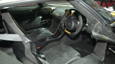 Koenigsegg Hundra interior