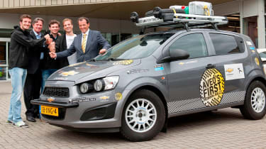 Goodwood to Mongolia in a Chevrolet Aveo