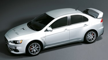 Mitsubishi Evo X FQ-440 MR announced
