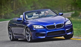 2012 BMW M6 Convertible front cornering