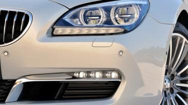 BMW 6-series Gran Coupe headlights LEDs