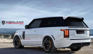 Merdad Range Rover coupe Highland GTC rear
