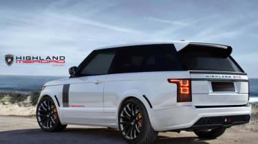 Merdad Range Rover coupe Highland GTC rear