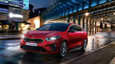 Kia Proceed - front quarter