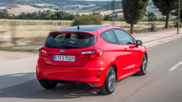 Ford Fiesta ST-Line - rear driving 2
