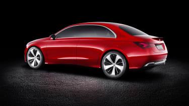 Mercedes-Benz Concept A Sedan rear three quarters