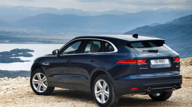 18 F-pace rear