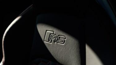 Audi RS4 – seat embossed