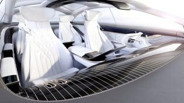 Mercedes Vision EQS concept seats